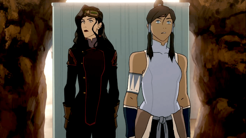 Legend of Korra, Korra, Asami