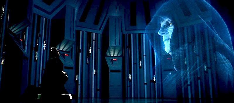 Star Wars, Vader, Emperor