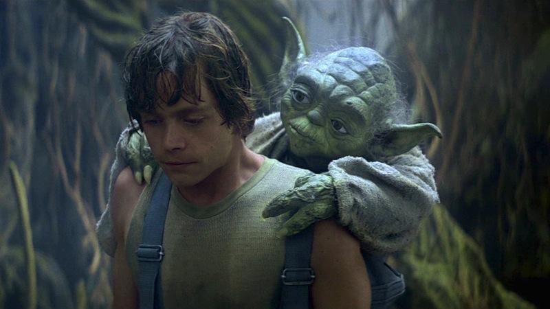 Star Wars, Luke Skywalker, Yoda