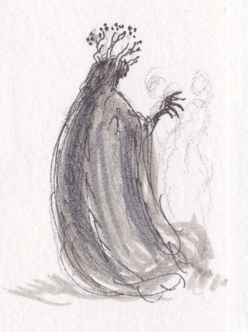 The Maiden in the Ice illustration Kathleen Jennings