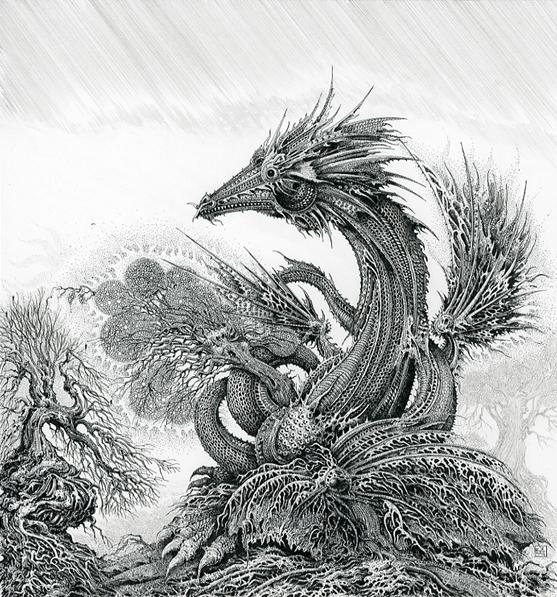Dagon and Tree, Ian Miller