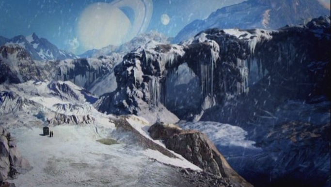 Planet of Ood Doctor Who snow planets