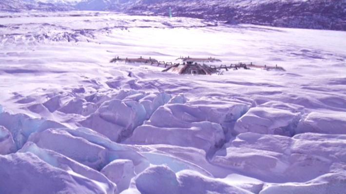 Star Trek Rura Penthe ice planet