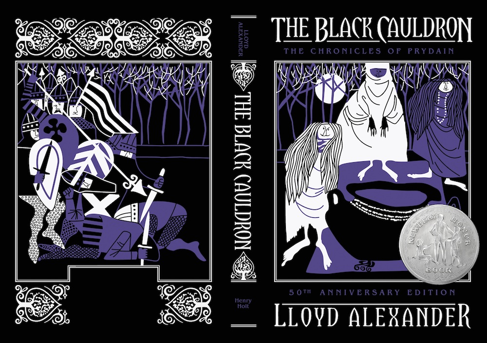 The Black Cauldron 50th anniversary edition cover reveal excerpt Lloyd Alexander