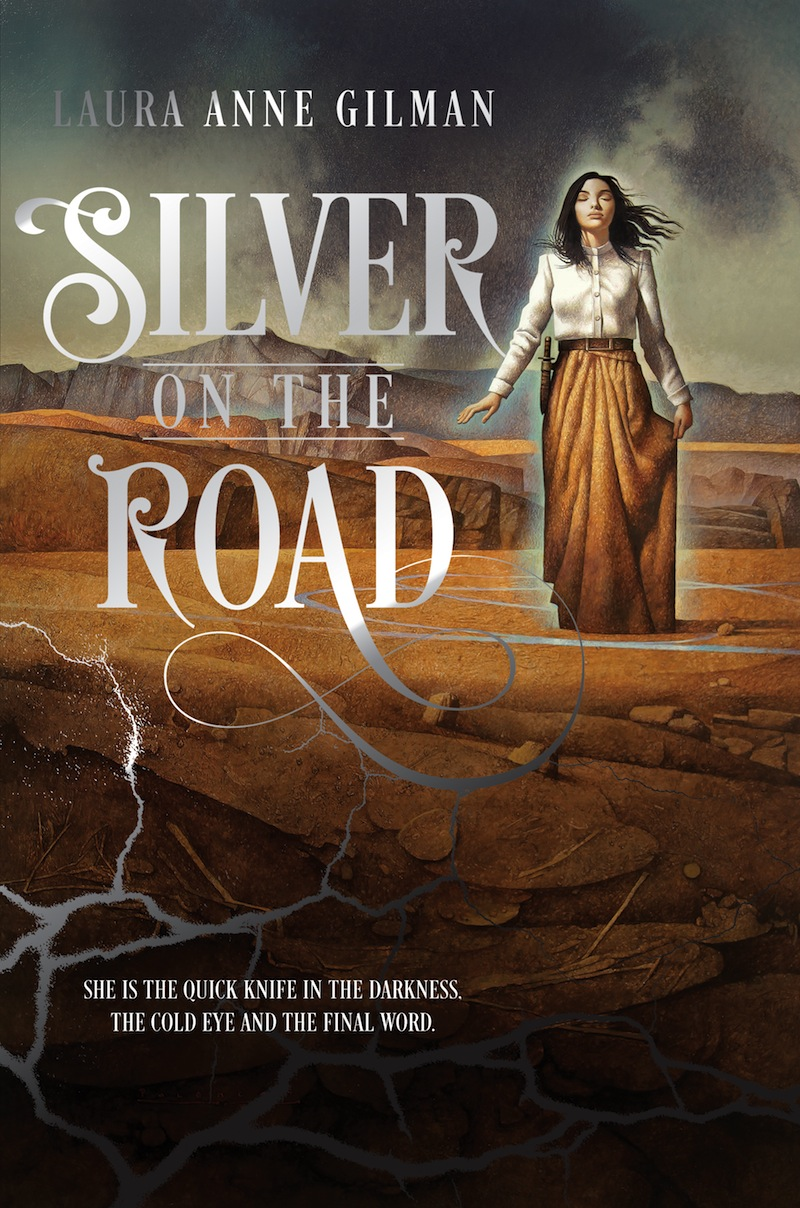 Laura Anne Gilman Silver on the Road John Jude Palencar cover