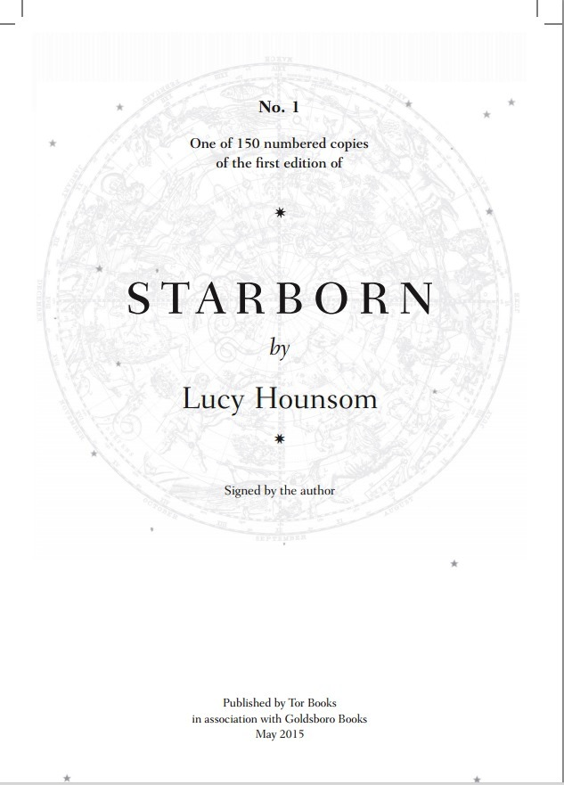 Starborn Lucy Hounsom