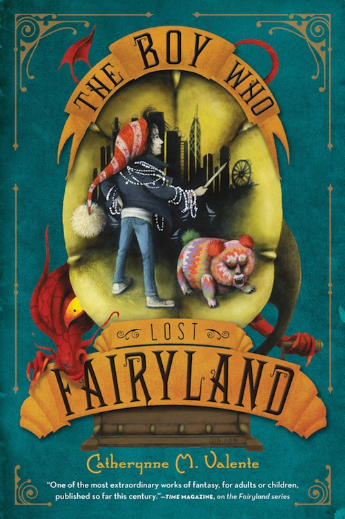 Image result for the girl who circumnavigated fairyland series