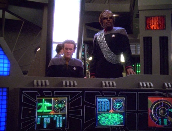 Star Trek Deep Space Nine Rewatch The Dogs of War Worf