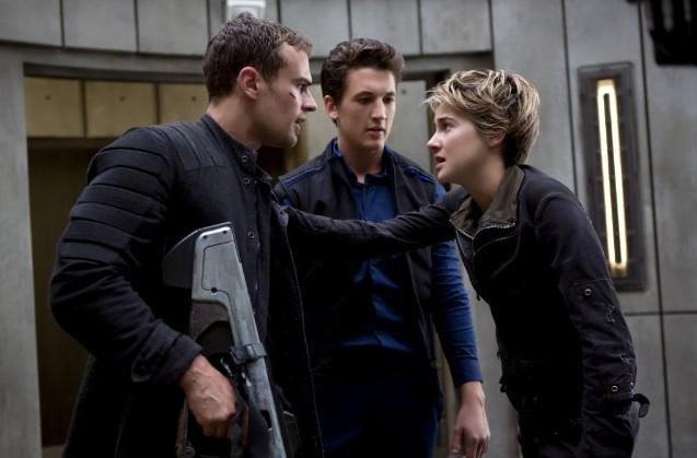 Insurgent movie review Tris Four