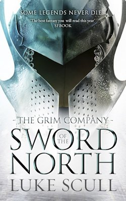 Sword of the North UK cover Luke Scull