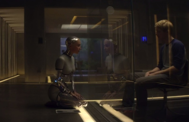 Ex Machina movie review Domhnall Gleeson Oscar Isaac Alicia Vikander Alex Garland