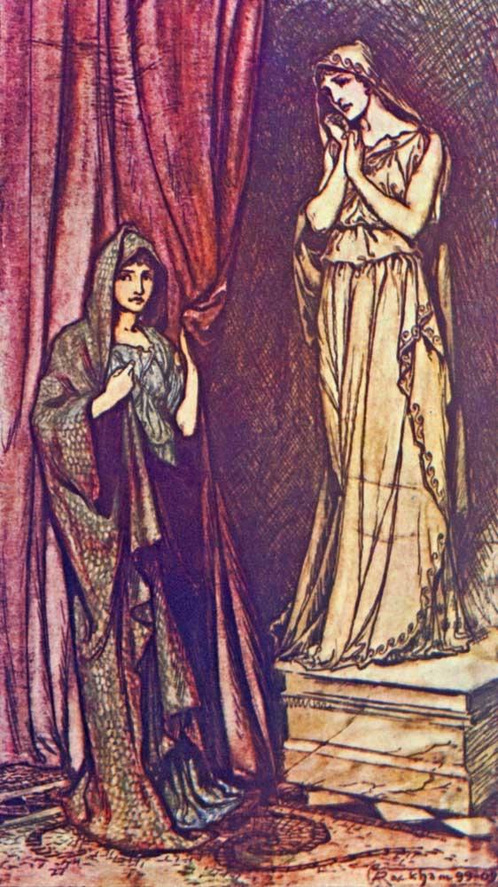 The Winter's Tale Hermione statue Shakespeare