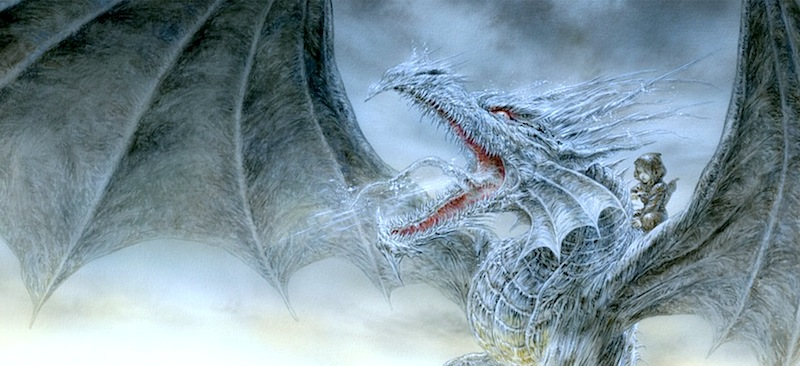 Ice Dragon Luis Royo art