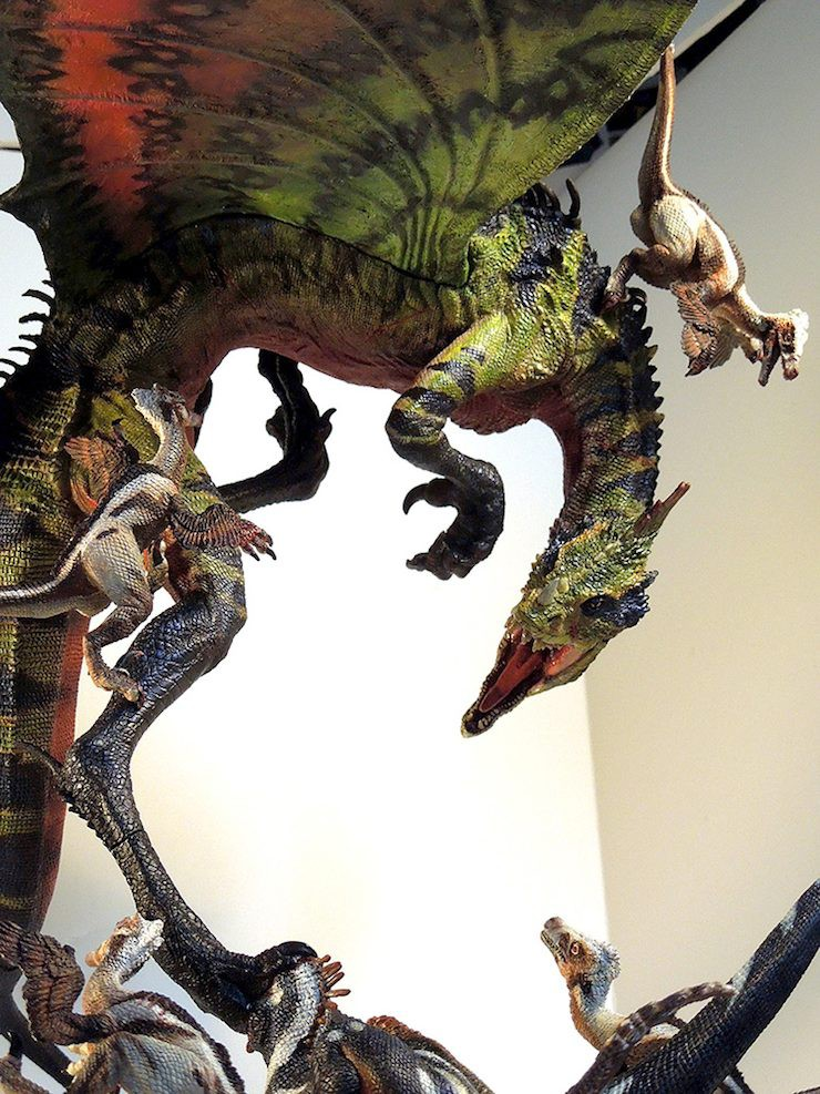David Silva Dragon vs Raptors