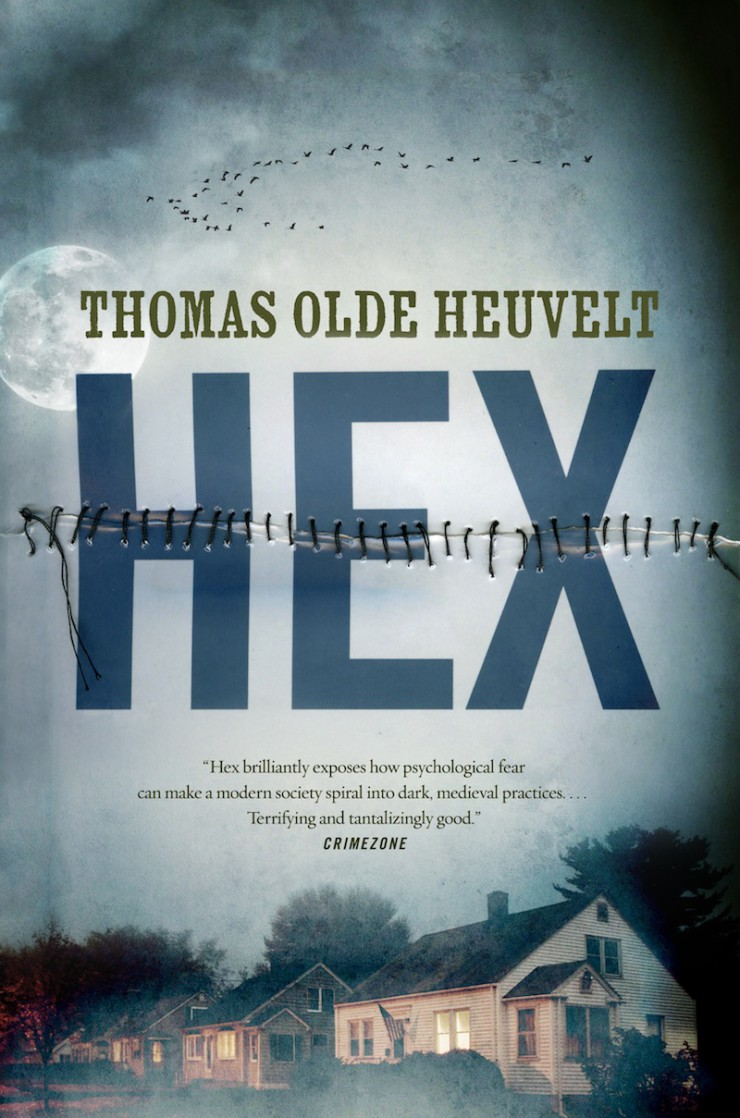 HEX Thomas Olde Heuvelt cover reveal
