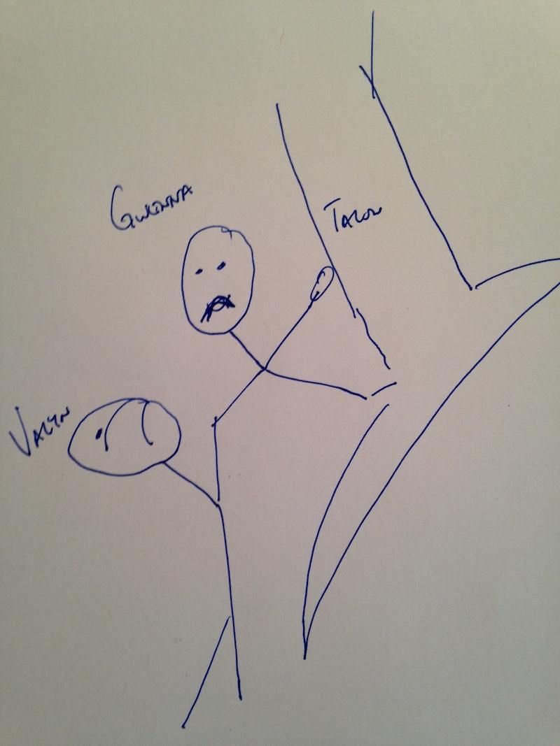 Brian Staveley The Last Mortal Bond sketch