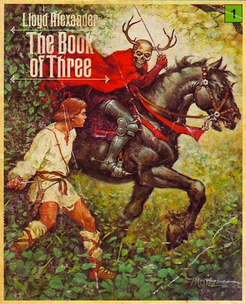 The Book of Three Lloyd Alexander book cover