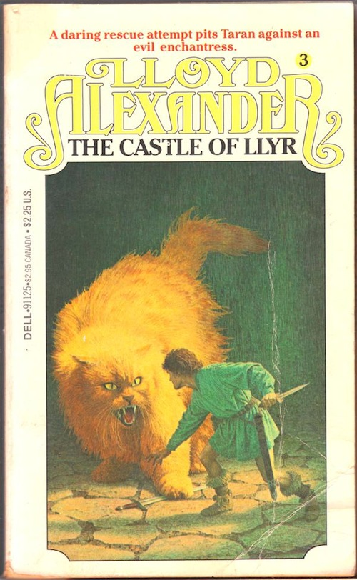 Castle of Lyr Lloyd Alexander book cover
