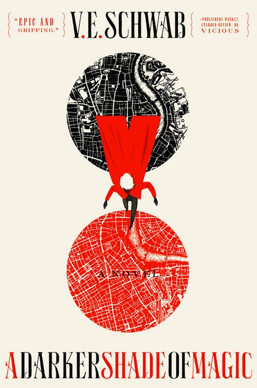 A Darker Shade of Magic V.E. Schwab book cover