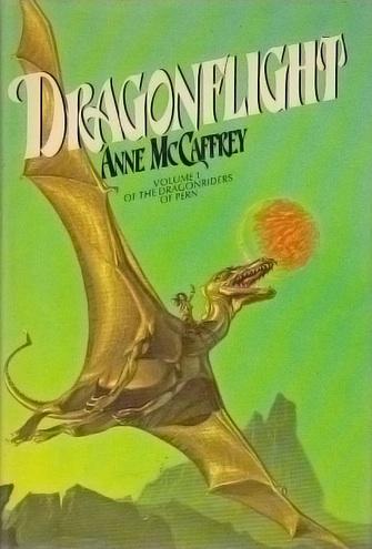 Dragonflight Anne McCaffrey Michael Whelan book cover