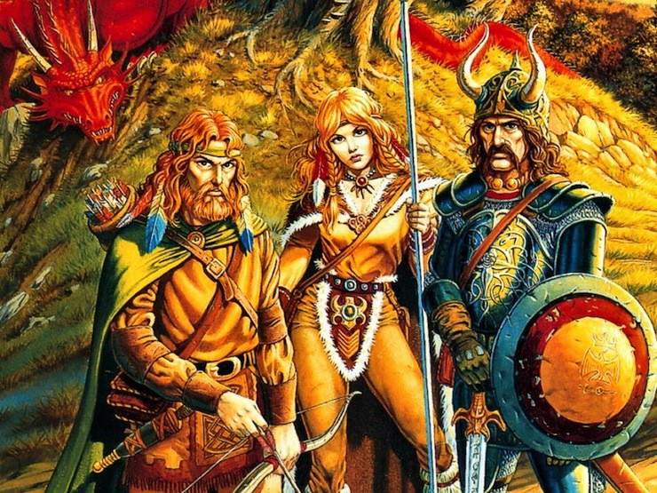Dragonlance art Larry Elmore