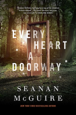 Every Heart a Doorway cover reveal Seanan McGuire