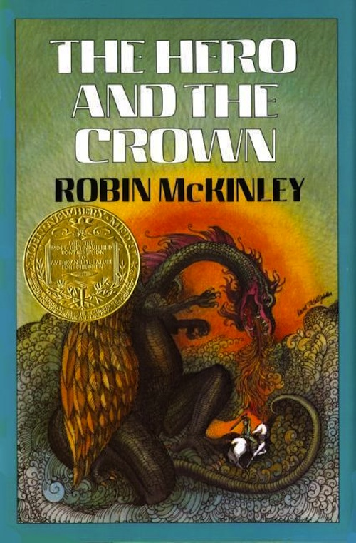 The Hero and the Crown book cover Robin McKinley
