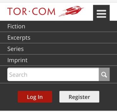 Tor.com mobile