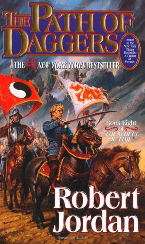 Wheel of Time Path of Daggers book cover