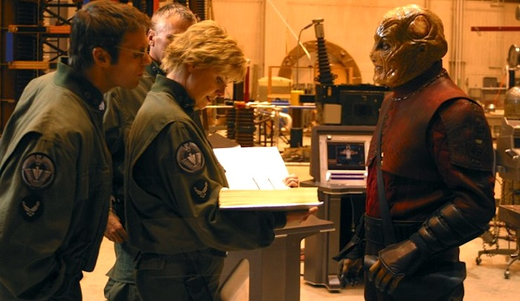 Stargate: SG-1, season 7, Sam Carter, Daniel Jackson