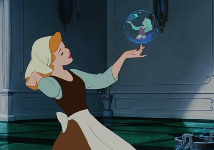 Cinderella-bubble