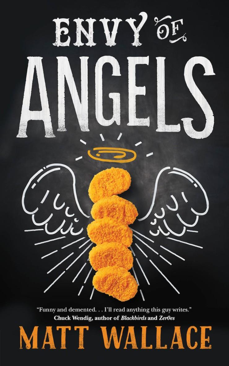 Envy of Angels Matt Wallace cover reveal