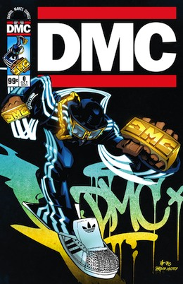 DMC comic book cover