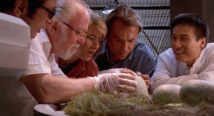 Jurassic Park, Dr. Grant, Sattler, Dr Wu, Hammond