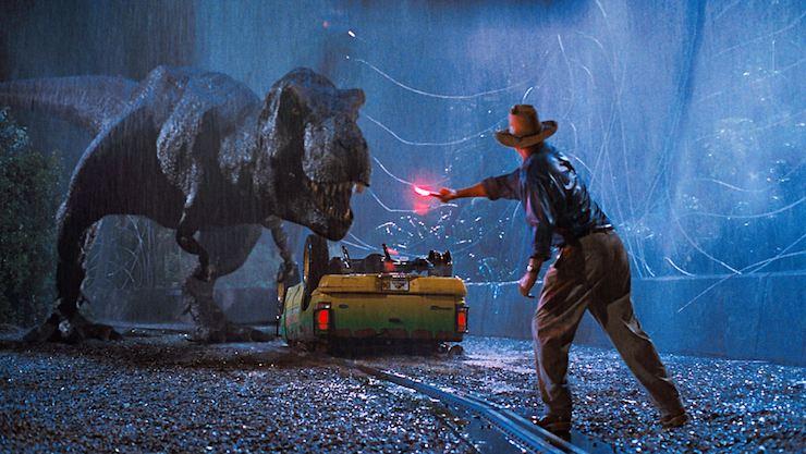 Jurassic Park, t-rex, Dr. Grant