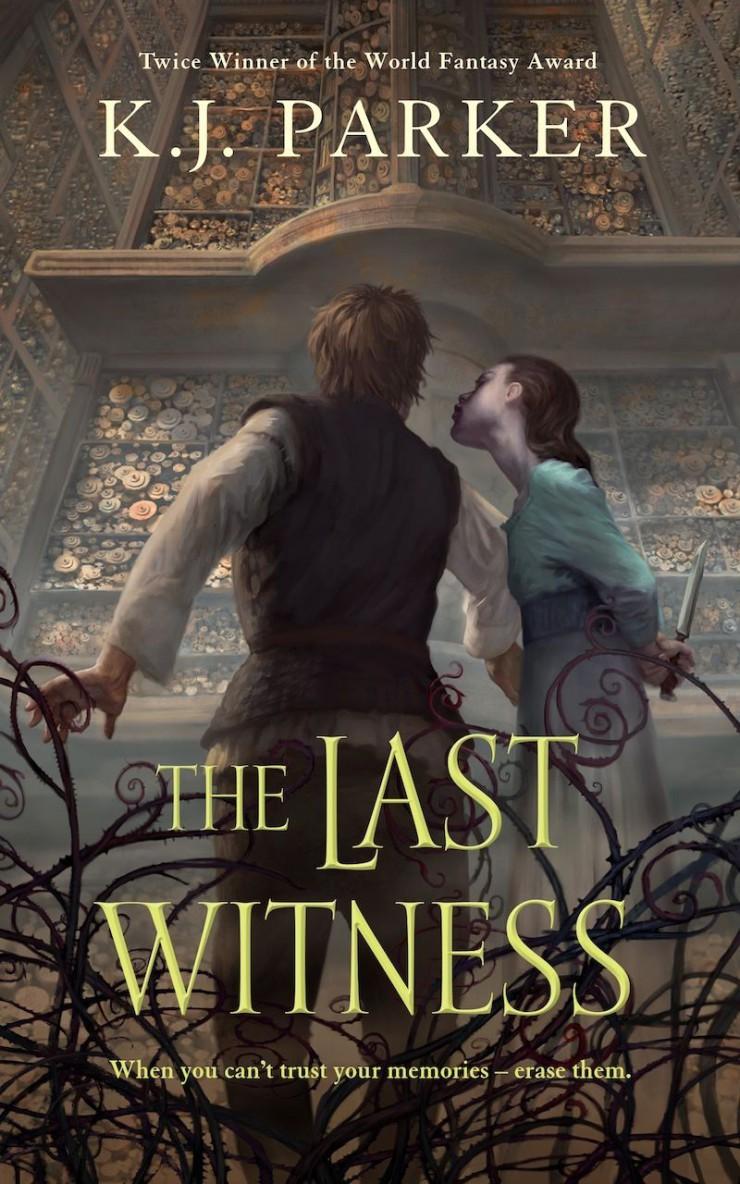 The Last Witness K.J. Parker cover reveal