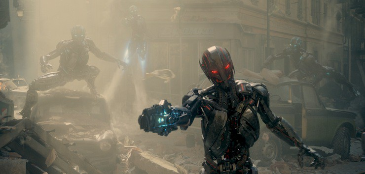 Marvel's Avengers: Age Of Ultron..Sub Ultrons..Ph: Film Frame..?Marvel 2015