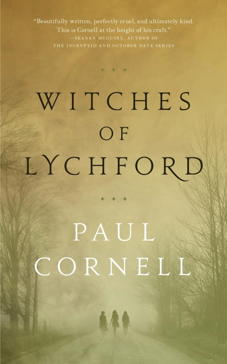 Witches of Lychford Paul Cornell cover reveal
