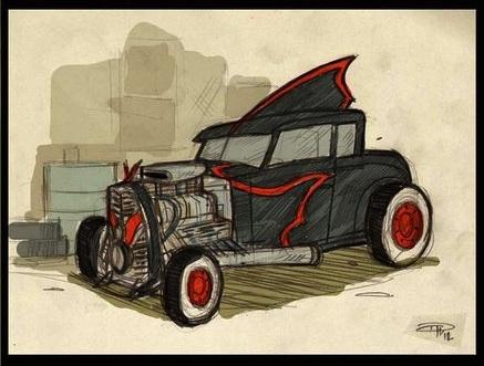 batmobile-hotrod