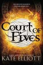 Court of Fives by Kate Elliott mixed-race heroine fantasy