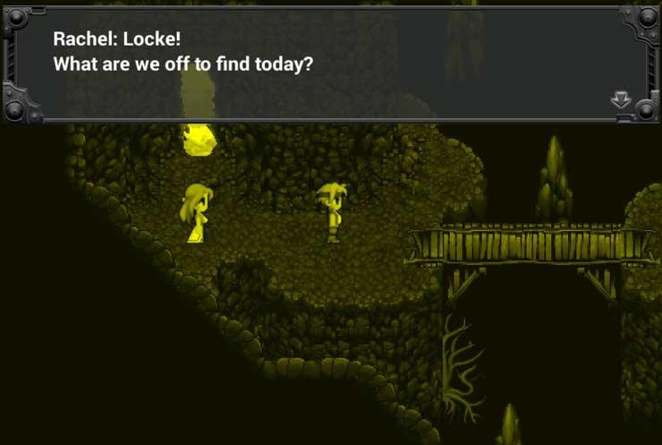 Final Fantasy 6 Locke Rachel