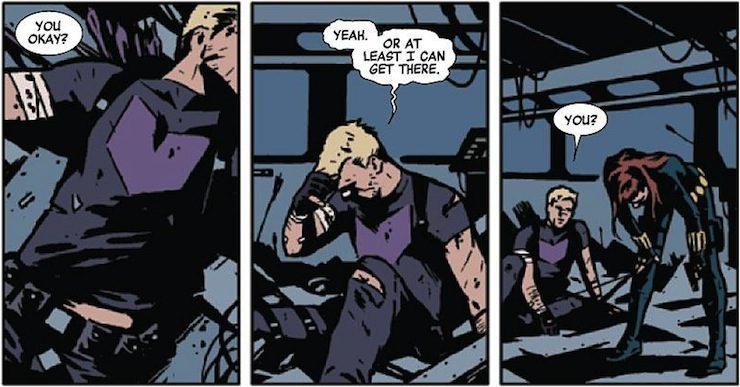 Hawkeye, Matt Fraction, David Aja
