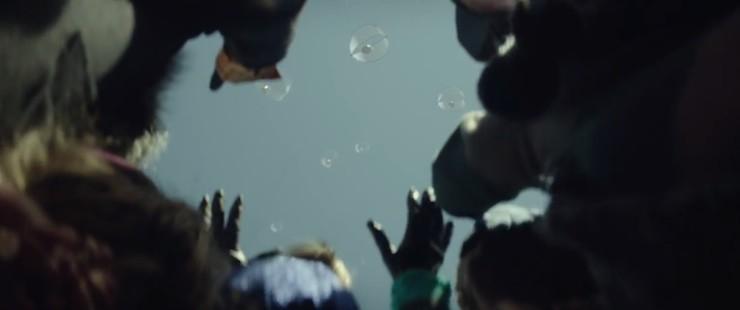 The Hunger Games: Mockingjay, Part 2 trailer parachutes