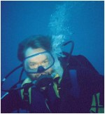Walter Jon Williams underwater
