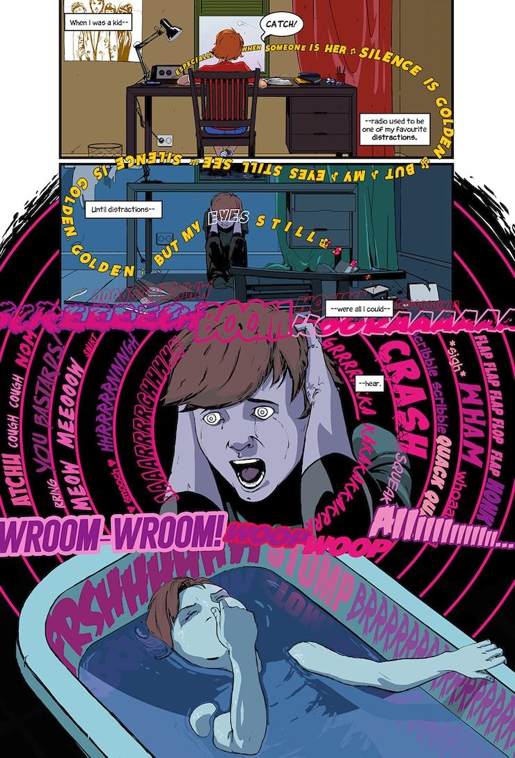 Daredevil fan comic