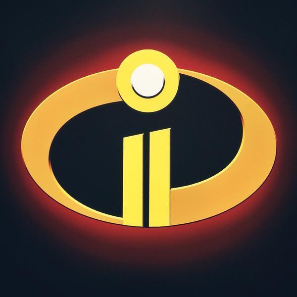 The Incredibles 2 logo Disney Pixar D23 Expo