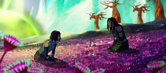 The Legend of Korra final battle