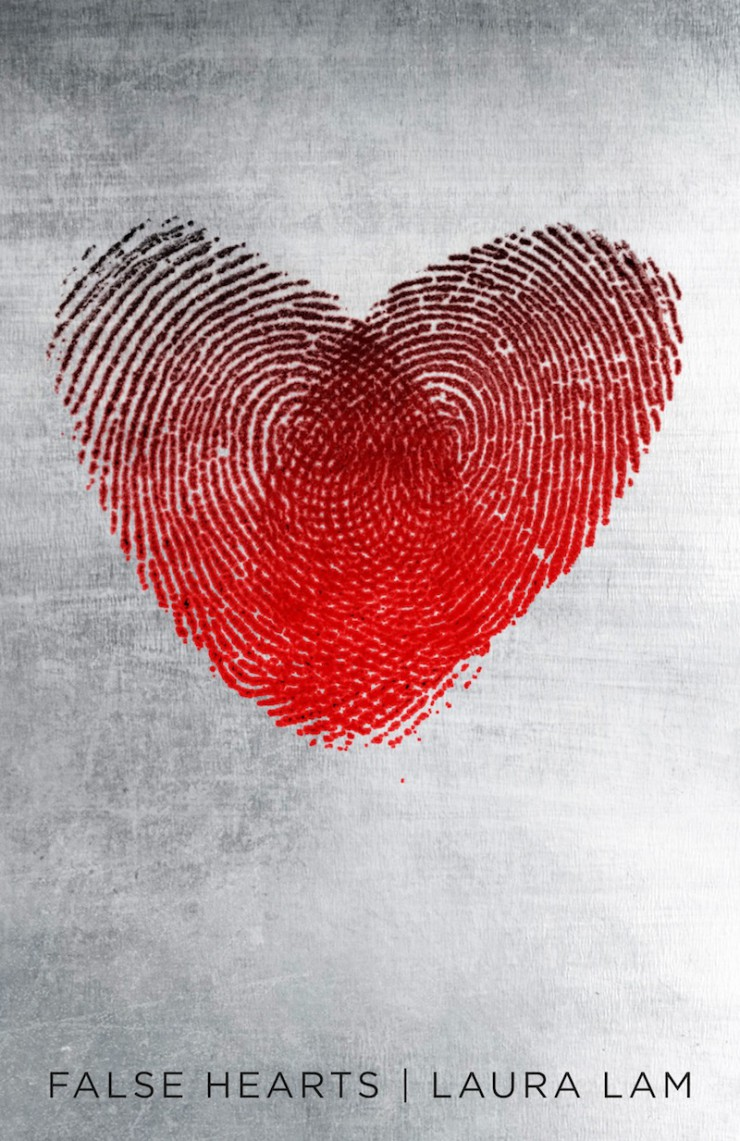 False Hearts - the front cover