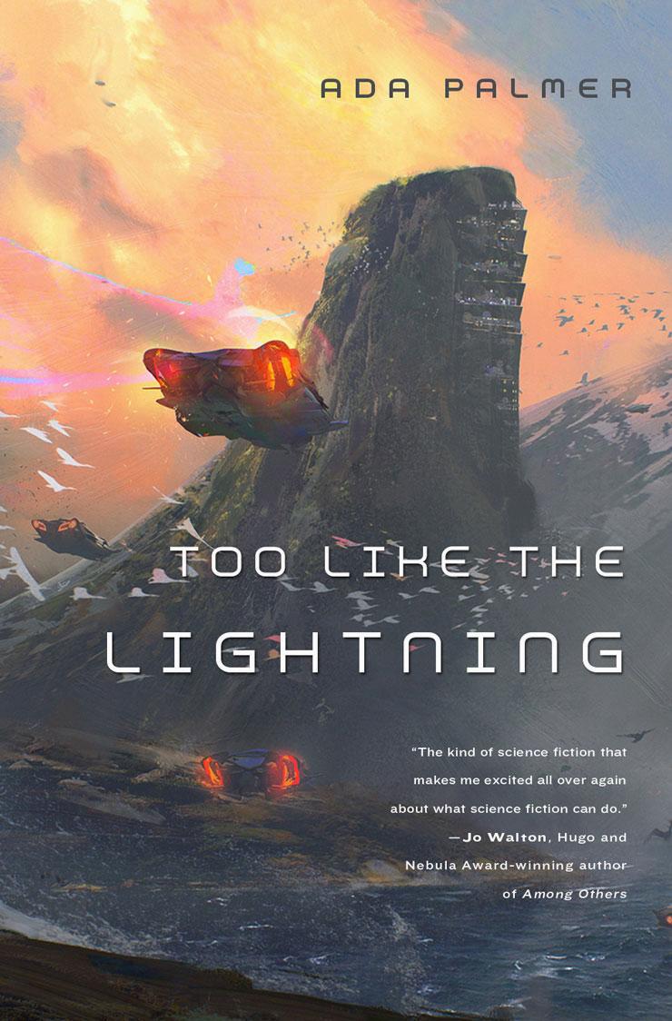 Too Like the Lightning Ada Palmer cover