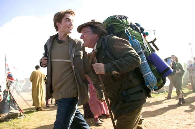 Cedric and Amos Diggory, Quidditch World Cup